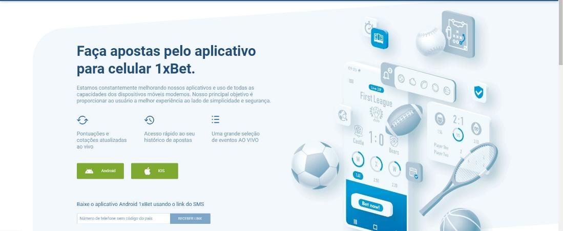 Download de um aplicativo de apostas em filmes e séries de TV